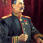 Portraits of Stalin - Alexander Gerasimov. 2, 900 Classic russian paintings