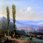 900 Classic russian paintings - Aivazovsky, Ivan - View of Tiflis. 1869