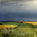 900 Classic russian paintings - Shishkin Ivan - The road in the Rye