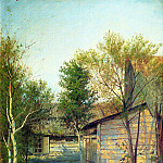 900 Classic russian paintings - Isaak Levitan - Sunny Day