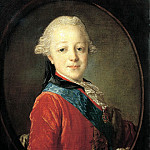 Rocot Fyodor - Portrait of Grand Duke Paul Petrovich in childhood. 1761, 900 Classic russian paintings