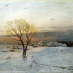 900 Classic russian paintings - DUBOVSKAYA Nick - Frosty Morning