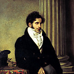 900 Classic russian paintings - Kiprensky Orestes - Portrait of Sergei Semenovich Uvarov. 1816