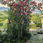 900 Classic russian paintings - GOLOVIN Alexander - Umbriyskaya Valley