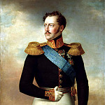 Golikov Basil - Nicholas I, 900 Classic russian paintings