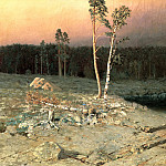 900 Classic russian paintings - Kuindzhi Arkhip - On the island of Valaam