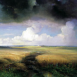 Alexei Savrasov - Rye, 900 Classic russian paintings