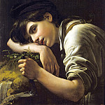 Kiprensky Orestes - A young gardener. 1817, 900 Classic russian paintings