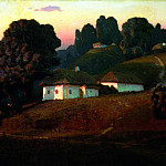 900 Classic russian paintings - Kuindzhi Arkhip - Evening in Ukraine