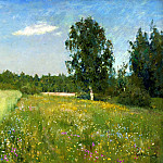 900 Classic russian paintings - Isaak Levitan - Summer