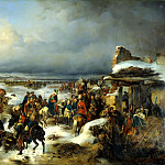 Kotzebue Alexander - Capture of the fortress of Kolberg, 900 Classic russian paintings