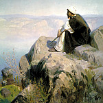 Polenov Vasily - Dreams, 900 Classic russian paintings