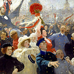 Ilya Repin – October 18, 1905, 900 Classic russian paintings