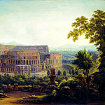 MATVEEV Fedor – Kind of Rome. Colosseum, 900 Classic russian paintings