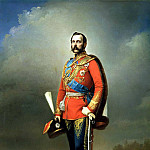 900 Classic russian paintings - Nikolai Lavrov - Portrait of Emperor Alexander II. 1873