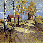 900 Classic russian paintings - Germashev Michael - Autumn Landscape