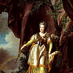 Levitsky Dmitry - Portrait of Catherine II, 900 Classic russian paintings