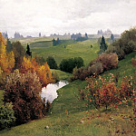 900 Classic russian paintings - Schilder Andrew - The Ravine