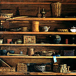 900 Classic russian paintings - ANOKHIN Nick - Rustic shelves