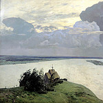 900 Classic russian paintings - Isaak Levitan - Above the Eternal Peace
