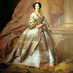 900 Classic russian paintings - MAKAROV Ivan - Portrait of Empress Maria Alexandrovna (1824-1880), wife of Alexander II