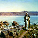 900 Classic russian paintings - Polenov Vasily - At Lake Tiberias