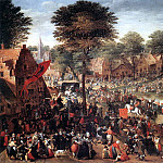 BOL Hans Village Feast, Dutch painters