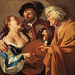 Голландские художники - BABUREN Dirck van The Procuress