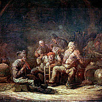 Голландские художники - CUYP Benjamin Gerritsz Peasants In The Tavern