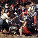 Dutch painters - BOL Hans Village Feast detail