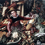Dutch painters - AERTSEN Pieter Vendor Of Vegetable