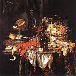 BEYEREN Abraham van Banquet Still Life With A Mouse, Dutch painters