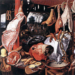AERTSEN Pieter Butchers Stall, Dutch painters