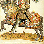 Голландские художники - ANTHONISZ Cornelis Henry VIII Of England On Horseback