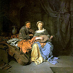 BEGA Cornelis The Duet, Dutch painters