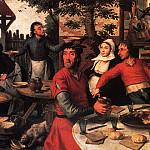 Aersten Pieter Peasant s Feast, Dutch painters