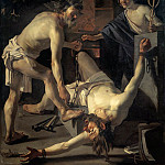 Dutch painters - BABUREN Dirck van Prometheus Being Chained By Vulcan