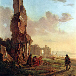 BOTH Jan Ruins At The Sea, Dutch painters