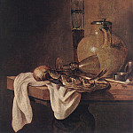 Dutch painters - BEYEREN Abraham van The Breakfast