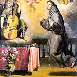 CARDUCHO Vicente The Vision Of St Anthony Of Padau, Spanish artists