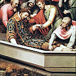 Spanish artists - JUANES Juan de The Entombment Of St Stephen Martyr