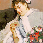 Spanish artists - Garreta, Raimundo de Madrazo y (Spanish, 1841-1920)