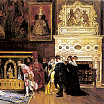 Leon Y Escosura Ignacio The Presentation At Court, Spanish artists