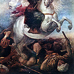 CARRENO DE MIRANDA Juan St James The Great In The Battle Of Clavijo, Spanish artists