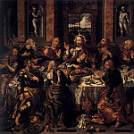 Spanish artists - VAZQUEZ Alonso Last Supper