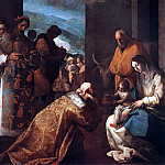 Spanish artists - CAJES Eugenio The Adoration Of The Magi