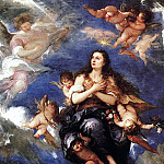 Spanish artists - ANTOLINEZ Jose Assumption Of Mary Magdalene