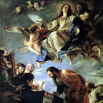 CEREZO Mateo Assumption Of mary, Spanish artists