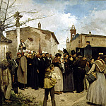 Spanish artists - Granell Antonio Fillol La gloria del pueblo
