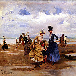 Spanish artists - Galup Francisco Miralles y Sur La Plage